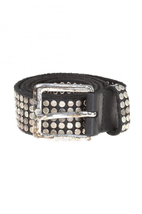 380dc15d3fb Studded Leather Belt Diesel - Vitkac shop online