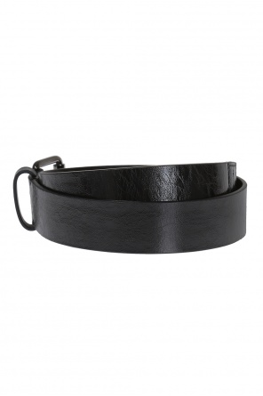 Leather belt designed for vitkac od Diesel Black Gold for VITKAC