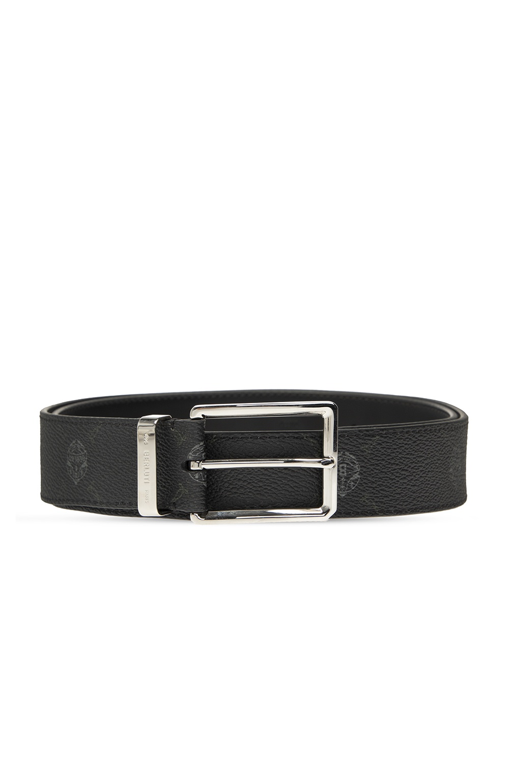 Berluti Logo-printed belt
