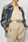 Isabel Marant Leather logo belt