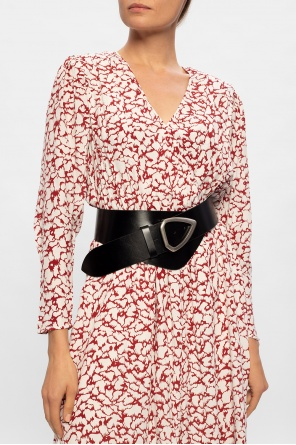 Leather waist belt od Isabel Marant