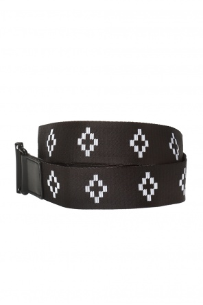 Logo-embroidered belt od Marcelo Burlon