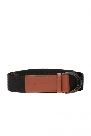 Adjustable belt with logo od Marni