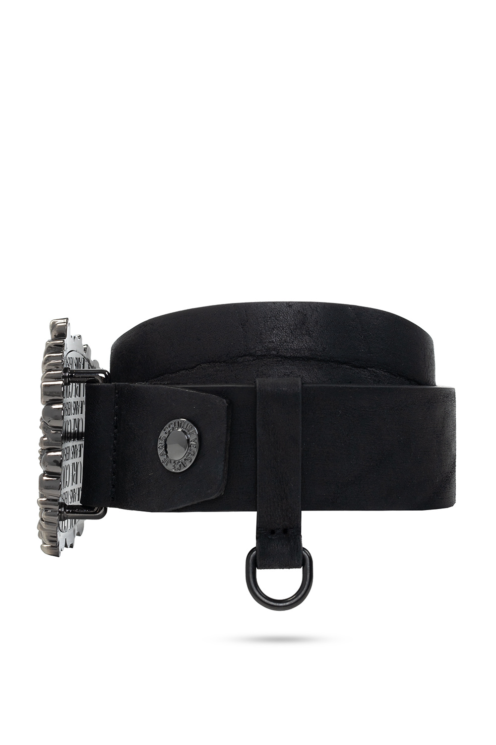 Versace Jeans Couture Belt with decorative buckle