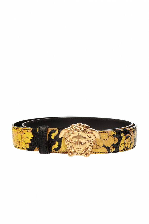 Versace Belt with decorative buckle