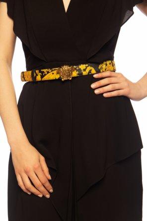 Belt with decorative buckle od Versace
