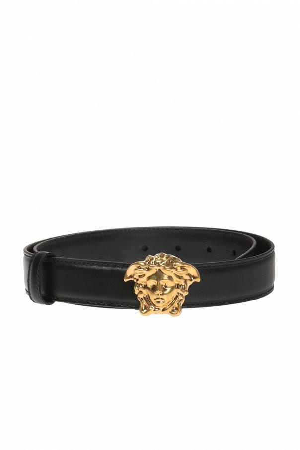 Versace Versace的黑色皮带
