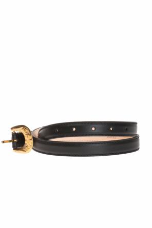 Leather belt od Versace