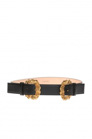 Double-buckled belt od Versace