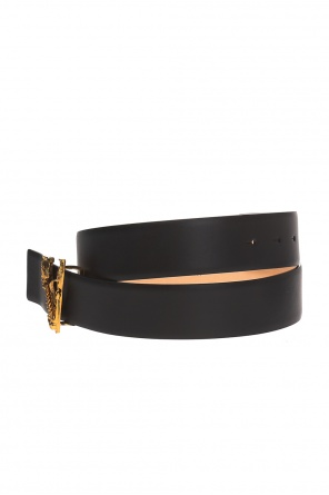 Belt with decorative buckle od Versace