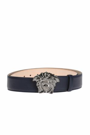 Medusa head-buckled belt od Versace