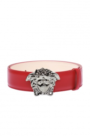 Medusa head buckle belt od Versace