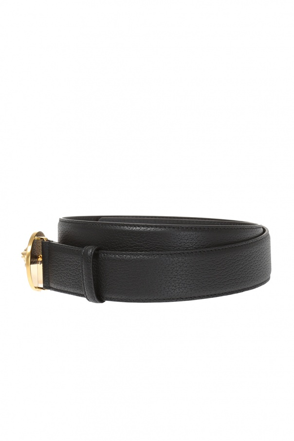 leather belt versace vitkac shop