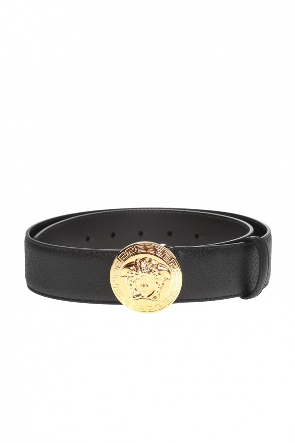 Decorative buckle belt od Versace