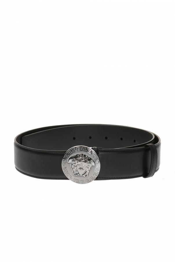 Versace Belt with round buckle