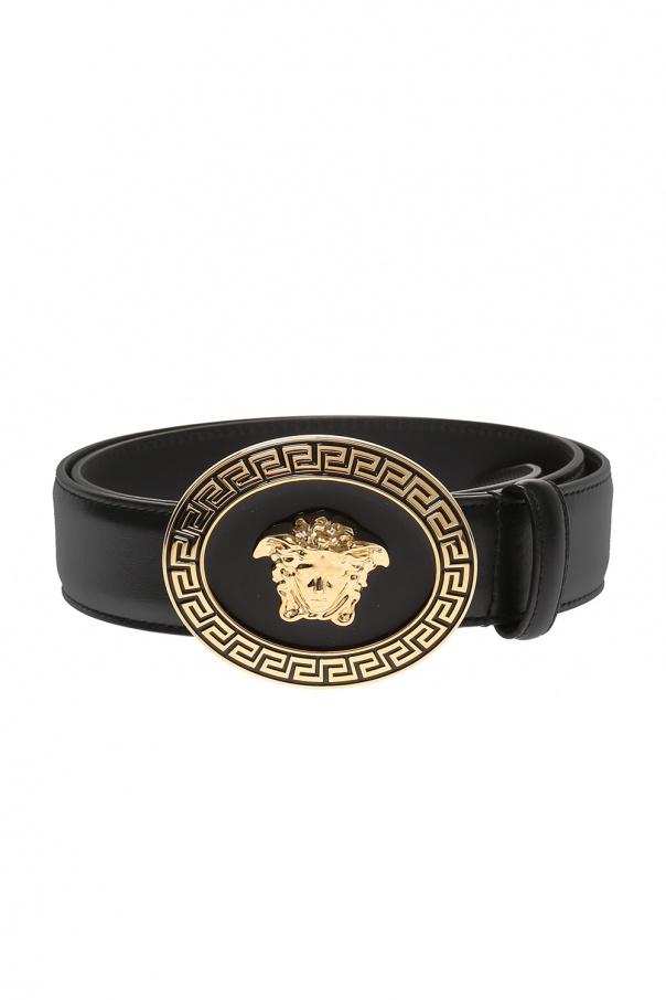 00306cf9baa7 Leather belt Versace - Vitkac shop online