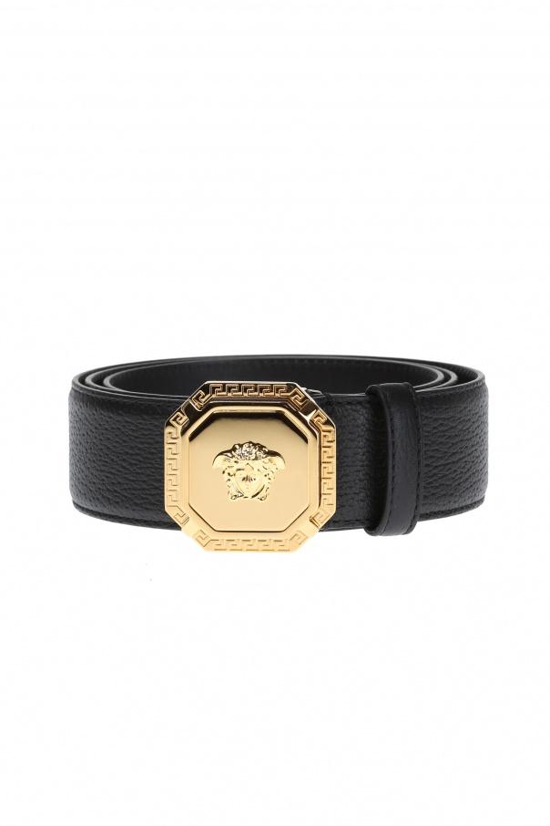 3bf7d38e0a47 Leather Belt Versace - Vitkac shop online