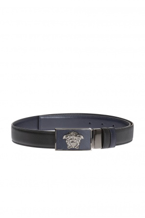 Medusa head-buckle belt od Versace