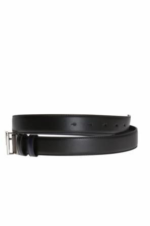 Metal buckle belt od Versace