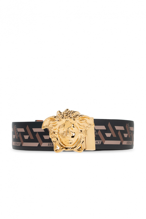 Versace Belt with Medusa head buckle