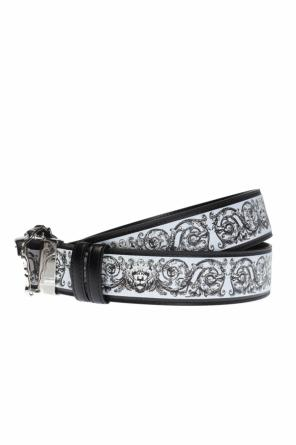 Belt with a decorative buckle od Versace