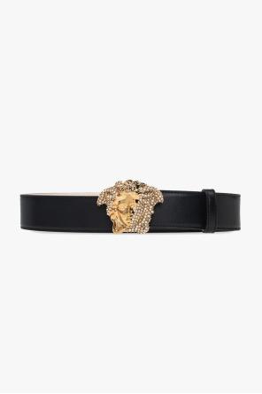 皮质腰带 od Versace