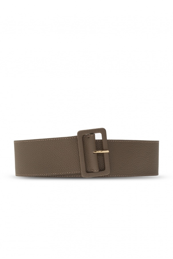 Agnona Buckled leather belt
