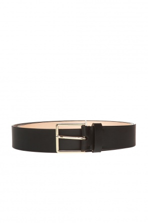 Adjustable leather belt od Paul Smith