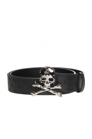 Logo-embossed belt od Philipp Plein
