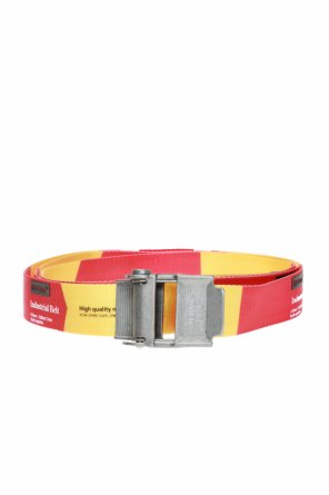 Adjustable belt with logo od Off White