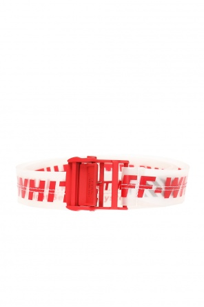 Translucent belt with logo od Off White