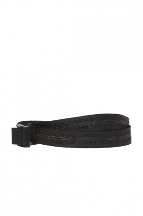 Logo-embroidered belt od Off White