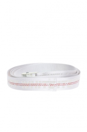 Long logo-embroidered belt od Off White