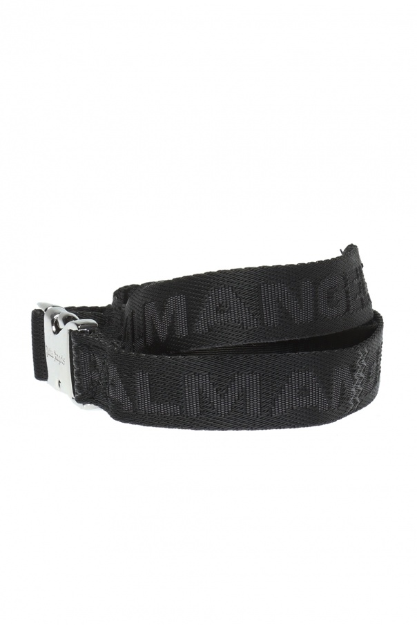 Logo-embroidered belt od Palm Angels