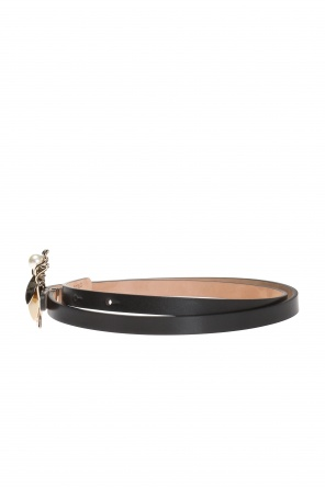 Belt with decorative buckle od Valentino Red