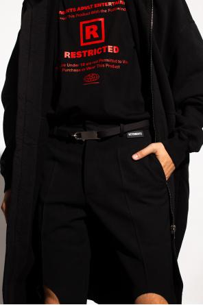 Cotton buckle belt od Rick Owens