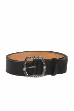 Embellished leather belt od Just Cavalli