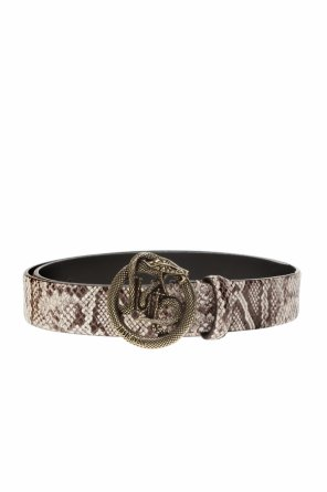 Leather belt with logo od Just Cavalli