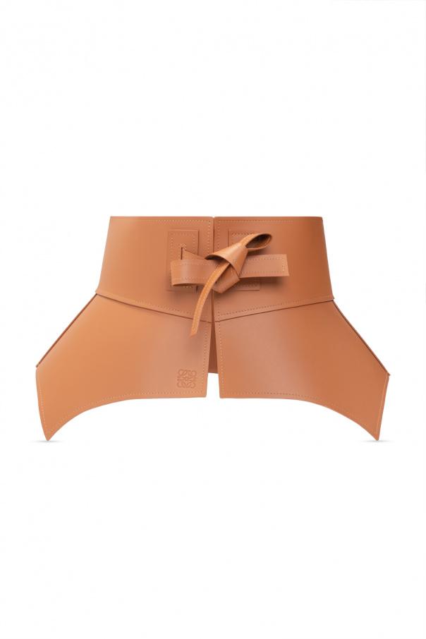 Loewe Leather waist belt