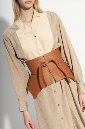 Leather waist belt od Loewe