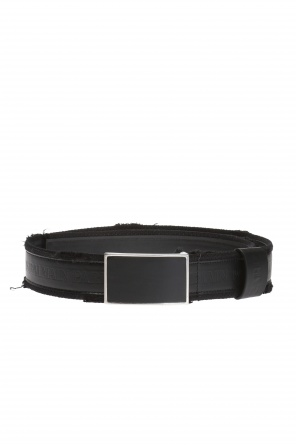 Logo-embossed belt od Balmain