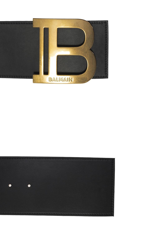 Balmain Wide waist belt