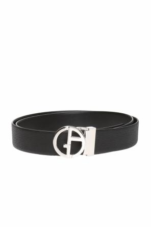 Belt with logo buckle od Giorgio Armani