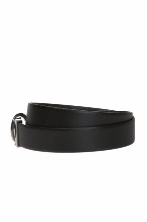 Reversible belt with interchangeable buckles od Giorgio Armani