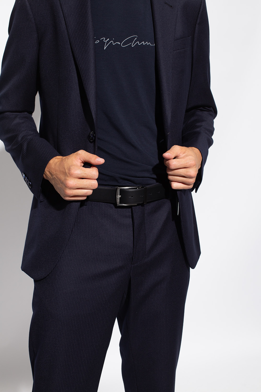 Giorgio Armani Belt with exchangeable buckle