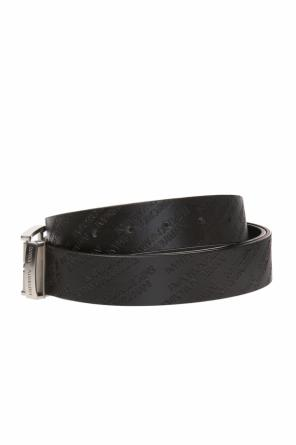Leather belt with logo od Emporio Armani
