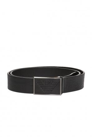 Belt with decorative buckle od Emporio Armani
