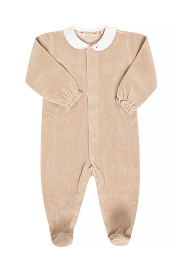 Bonpoint  Terrycloth romper suit