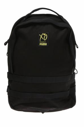 Logo-embroidered backpack od Puma XO by The Weeknd