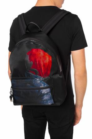 Logo-printed backpack od Dior